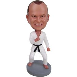 Taekwondo Bobble head, Karate Bobblehead