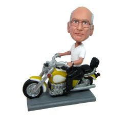 Custom Bobbleheads Motorcycle Rider