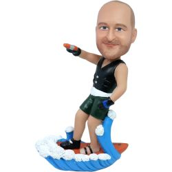 water skiing bobblehead