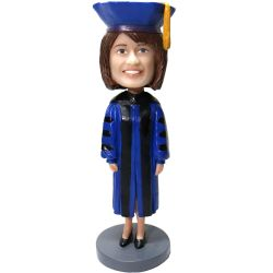 Personalized Graduation bobblehead