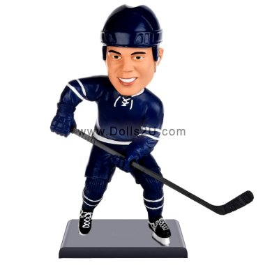 Personalized hockey player bobblehead / gift for hockey player Bobbleheads