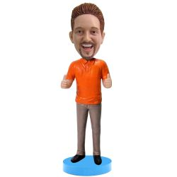 Thumbs up bobblehead