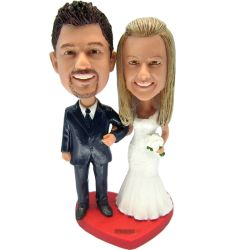 Custom Bobbleheads Wedding Couples