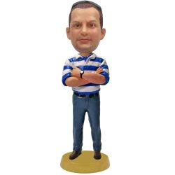Personalized boss bobblehead / gift for boss