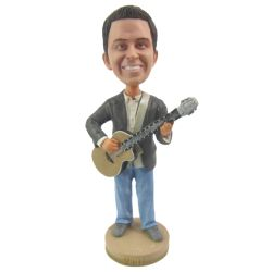 Custom Bobbleheads Guitar player
