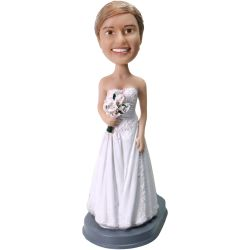 Custom Bobbleheads Bridesmaid