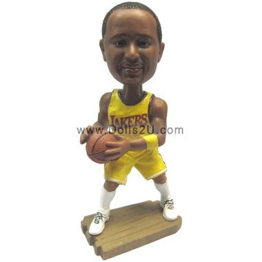 Cool Basketball Male Bobbleheads