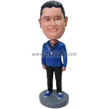 Basketball coach Bobbleheads