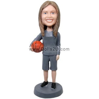 Female Basketball Coach Bobblehead Gift Bobbleheads