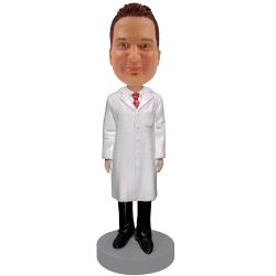 Personalized Male Doctor Bobblehead