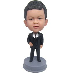 Custom Bobbleheads Kid in suit