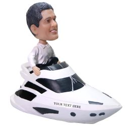 Custom Bobbleheads Speedboat