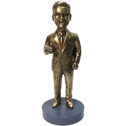Custom Bobbleheads Head-to-toe custom - Customize 7.2 inches bronze statue