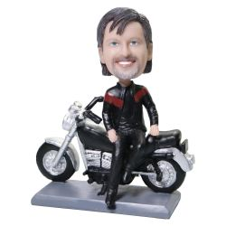 Custom Bobbleheads Motorcycle Rider Bobble head