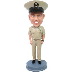 Personalized U.S. Navy Chief Petty Bobblehead