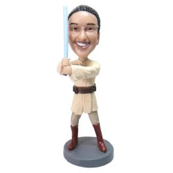 Personalized Jedi Bobblehead from your photo