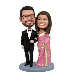 Custom Bobbleheads India Wedding Bobbleheads