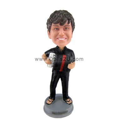 accordion player bobblehead Bobbleheads