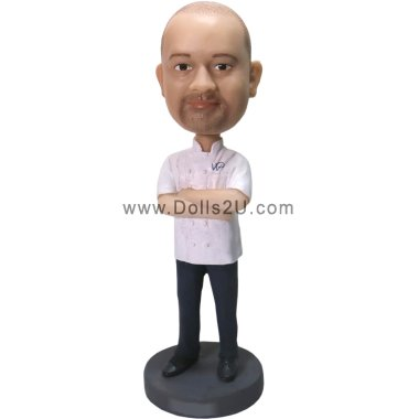Personalized Chef Bobblehead Bobbleheads