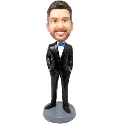 Customize Groomsman Bobblehead Gift