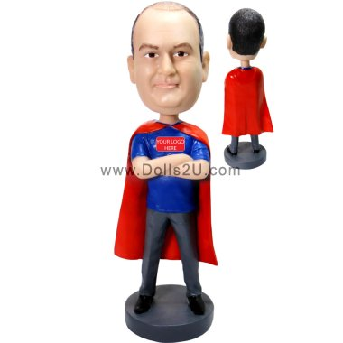 Personalized Super Dad Bobblehead - Gift for Dad Bobbleheads