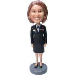 Female Navy Chief Petty Officer Bobblehead