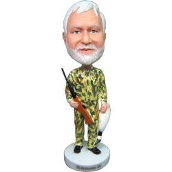 Hunter bobblehead