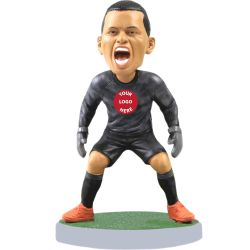 Personalized soccer goalkeeper bobblehead / gift for soccer fans