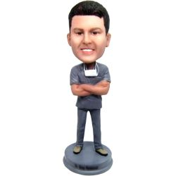 custom bobblehead doctor gift