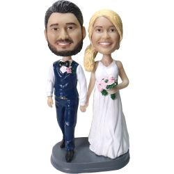 Custom Bobbleheads Custom Wedding Bobbleheads