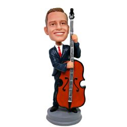 Custom Bobbleheads Cello player