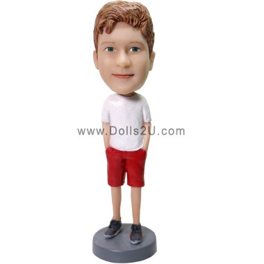 custom bobblehead gift for boy Bobbleheads