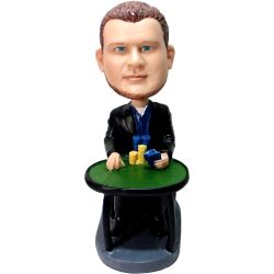 Custom Bobbleheads Poker Player bobblehead