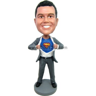 Superman Bobbleheads