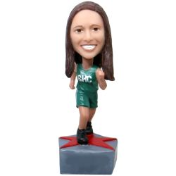 Female Athlete Bobblehead