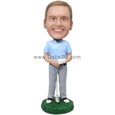 Golf Male Bobbleheads