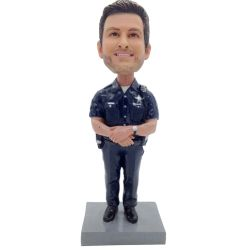 Police bobble head, cop bobblehead