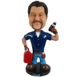 custom bobblehead repairman