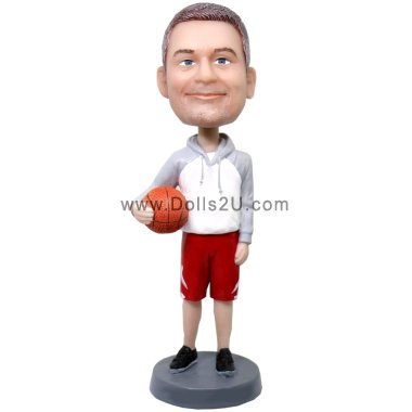 Male Basketball Coach Bobblehead Gift Bobbleheads