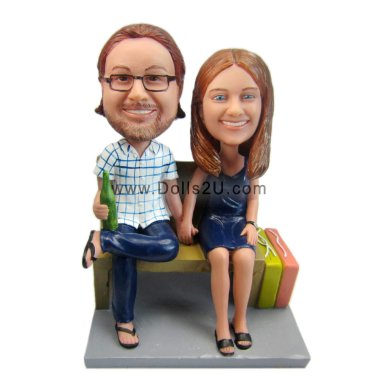 Wedding Couple Bobbleheads