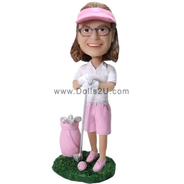 custom bobblehead golf gift for female Bobbleheads