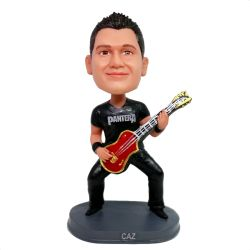 Custom Bobbleheads Electric guitar player
