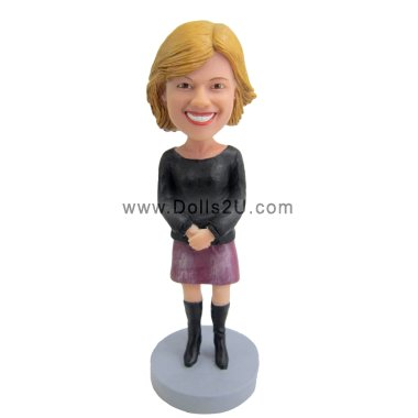 Casual Female Bobbleheads