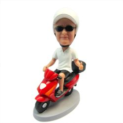 Custom Bobbleheads Male on Motorbike