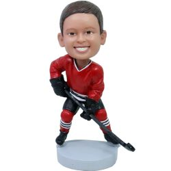 Custom Bobbleheads Hockey child