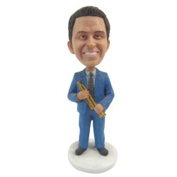 Custom Bobbleheads Trumpet player