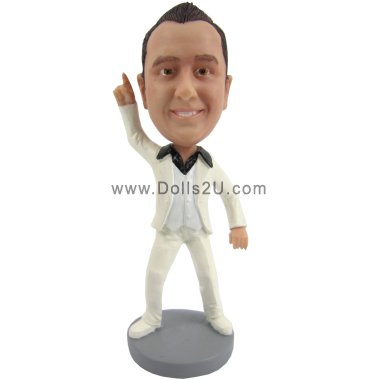 Personalized Saturday Night Fever / Tony Manero Bobblehead Bobbleheads