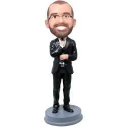 Custom Bobbleheads businessman