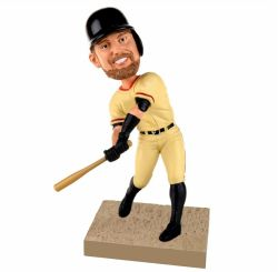 Personalized baseball player bobblehead / any color /any logo/ any jersey