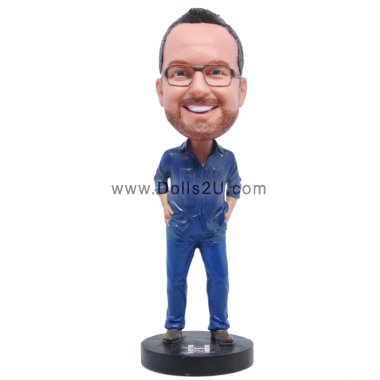 Male in shirt Bobbleheads